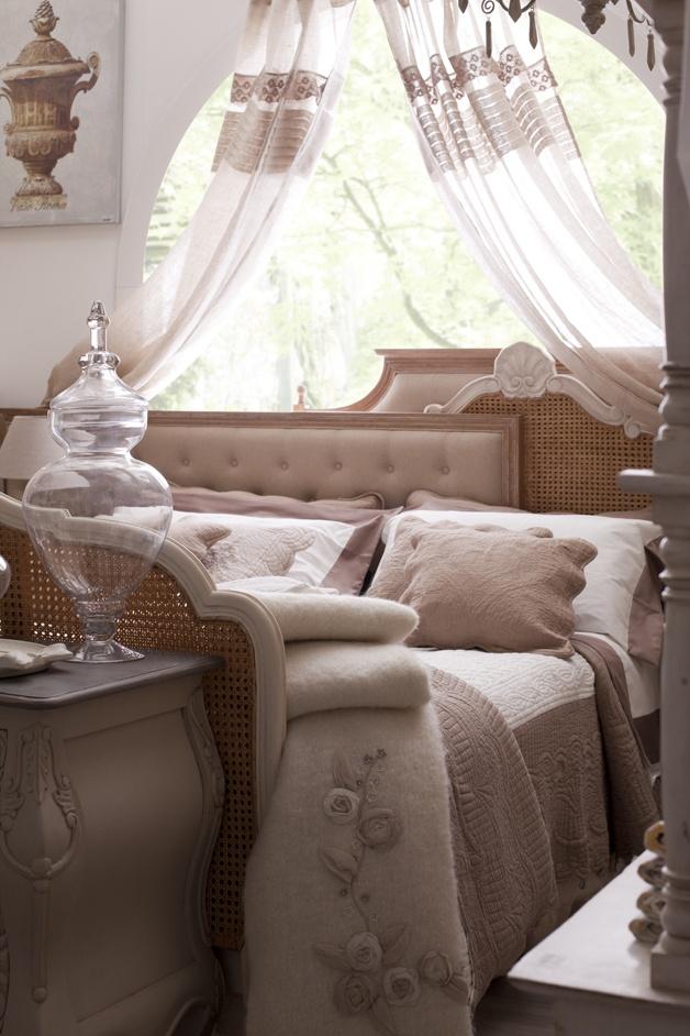 I letti di blanc maricl meraviglia shabby chic arredamento provenzale - Camere da letto stile provenzale ...