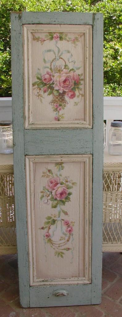 Come decorare una vecchia porta con il decoupage - Decorare una porta ...
