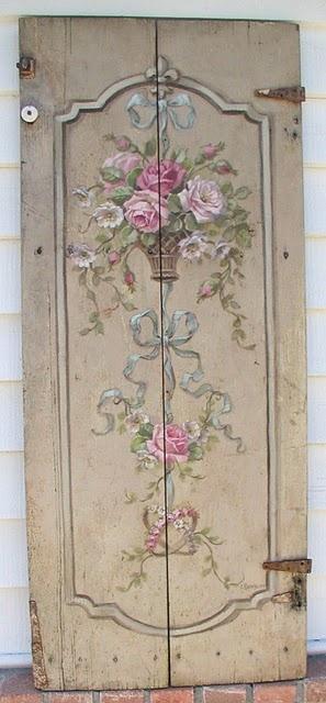 Come Decorare Una Vecchia Porta Con Il Decoupage Arredamento