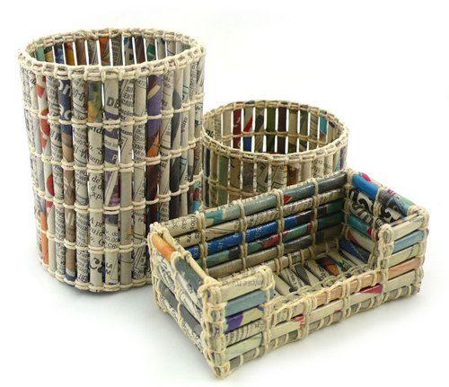 Decoriamo con i vecchi giornali recuperiamoli e for Arredamento giornali