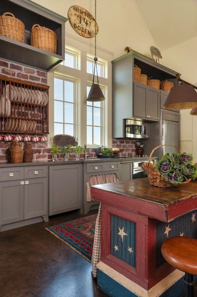 Luci in cucina: spazio allo stile country - Arredamento Provenzale