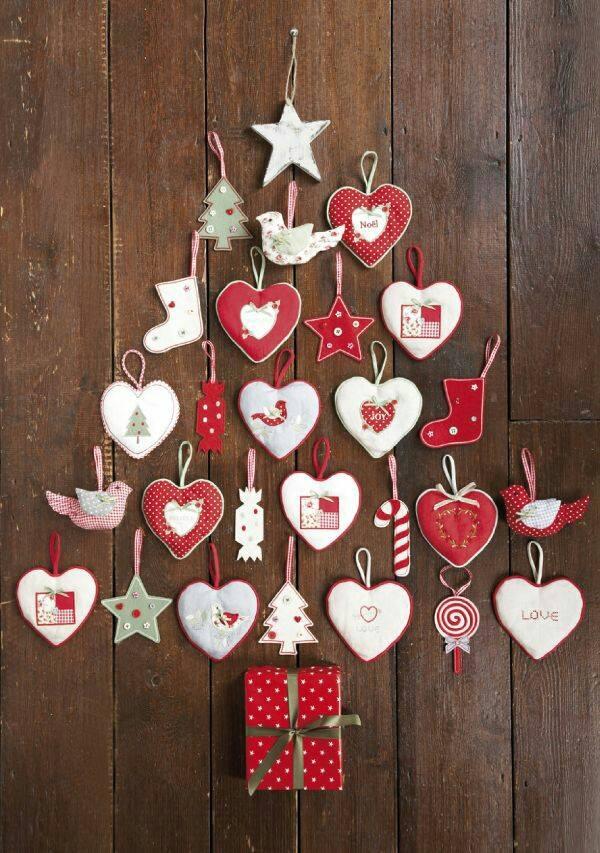12 consigli e idee per decorare la casa natalizia con il feltro in ...