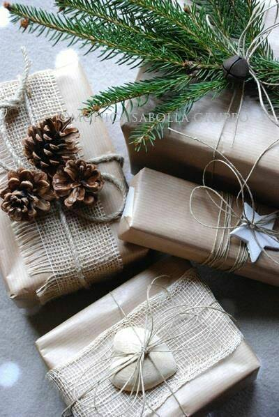 Pacchettini Di Natale Ovviamente Shabby Chic Arredamento Provenzale