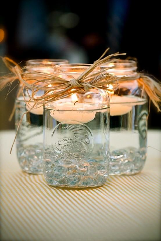 centrotavola-candele-barattoli