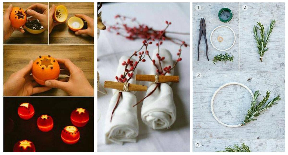 ... la tavola natalizia in stile Shabby Chic - Arredamento Provenzale