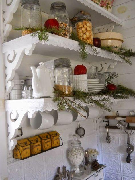 7 idee natalizie per decorare la cucina con oggetti della casa in ...