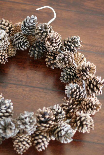 Estremamente Fantastiche idee e tutorial per delle ghirlande natalizie in stile  GR13