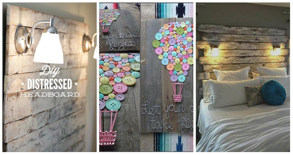 Fai da te e riuso: idee in legno per la camera da letto e per il ...