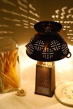 scolapasta-lampada