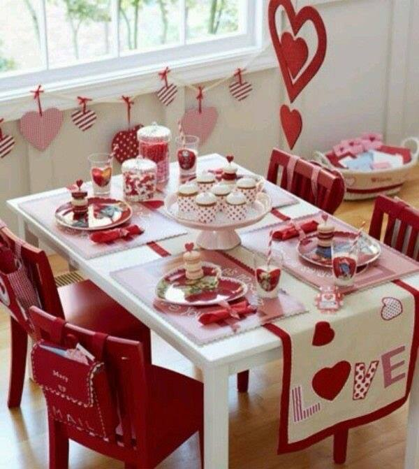 Apparecchiatura per san valentino altre idee da non perdere in shabby style arredamento - Idee tavola san valentino ...