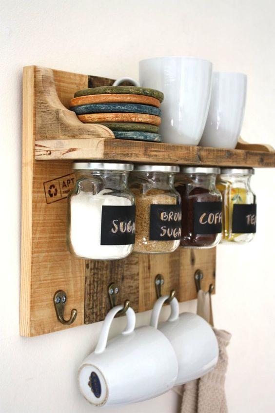 6 idee originali di recupero fai da te per la cucina in stile ...