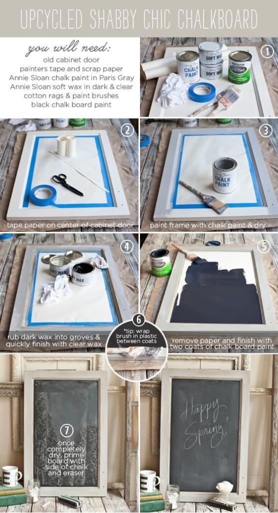 6 idee e tutorial per creare delle lavagnette Shabby Fai Da ...