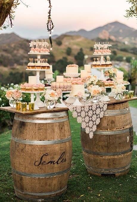 Torte Matrimonio Country Chic : Matrimonio shabby chic ecco qualche idea arredamento provenzale