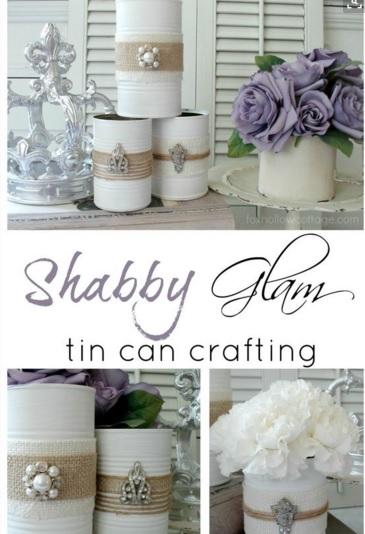 Idee shabby chic per riempire la casa di fiori - Idee shabby chic per la casa ...