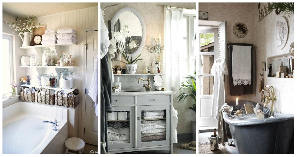 Bagno in stile vintage ecco qualche consiglio speciale for Arredo bagno in stile provenzale