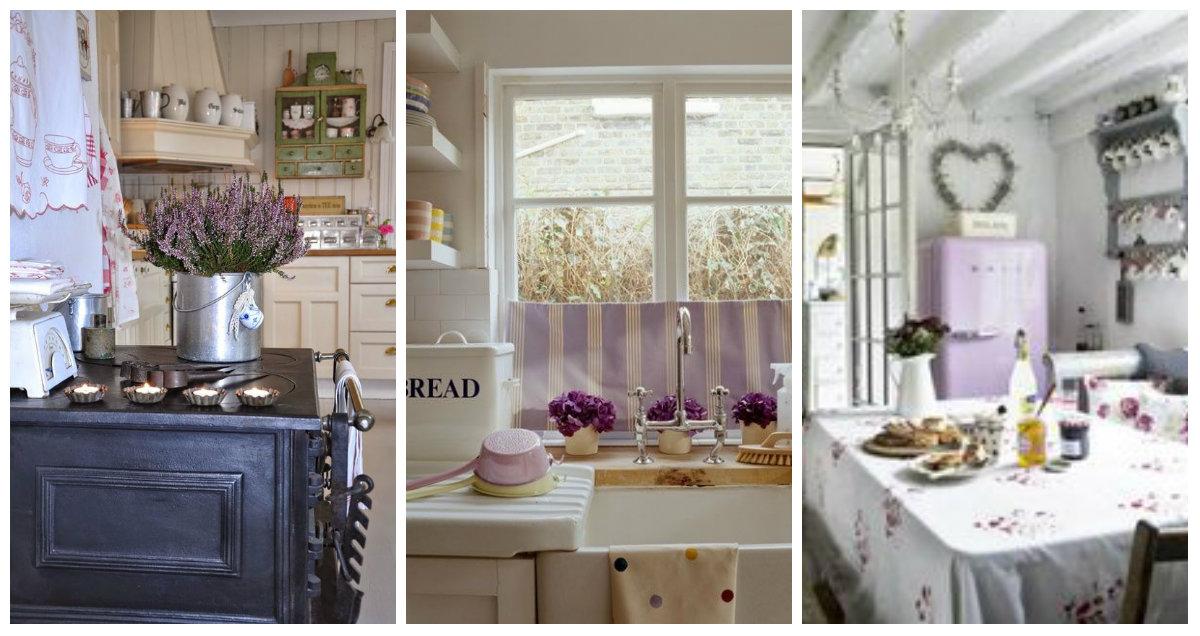 Color lavanda in cucina: ecco qualche consiglio - Arredamento Provenzale