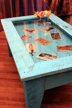tavolo-vecchie-foto-mare