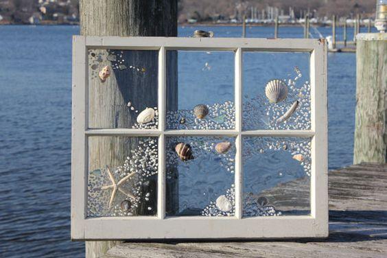 Vecchia finestra ecco 6 idee per riciclarla in stile for Finestra vecchia