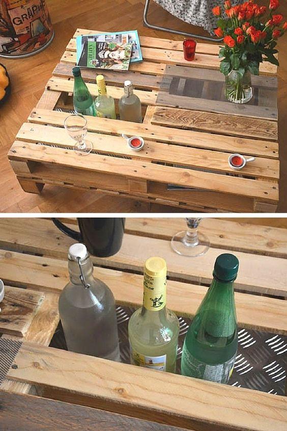 tavolino-pallet-fiori-bottiglie