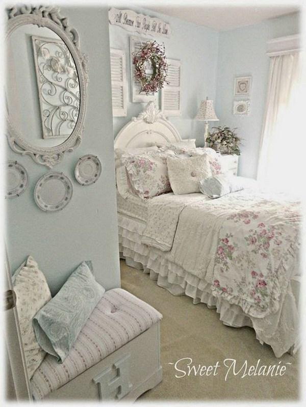 Camera da letto qualche consiglio shabby chic che vi far battere il cuore arredamento provenzale - Oggetti camera da letto ...