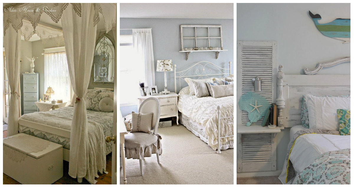 Camera da letto: qualche consiglio Shabby Chic che vi farà battere il ...