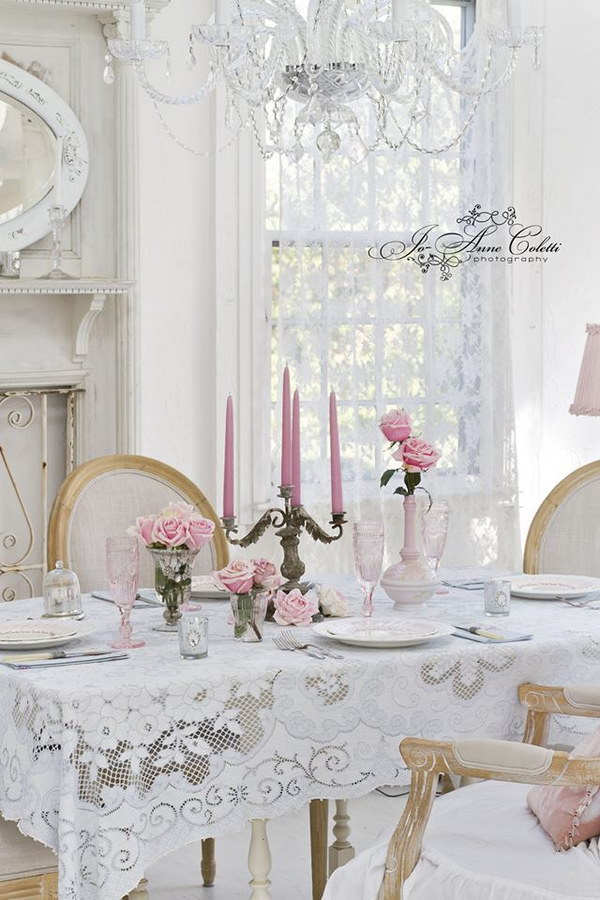 Tavolo Da Pranzo Shabby Chic: Countrykitty dining room about decluttering and sorting out.