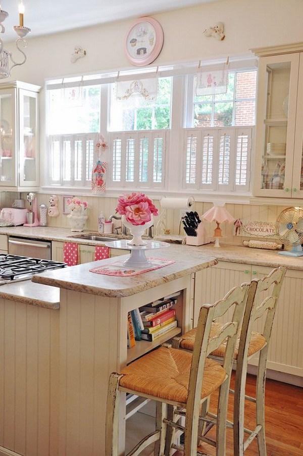 cucina accessori rosa