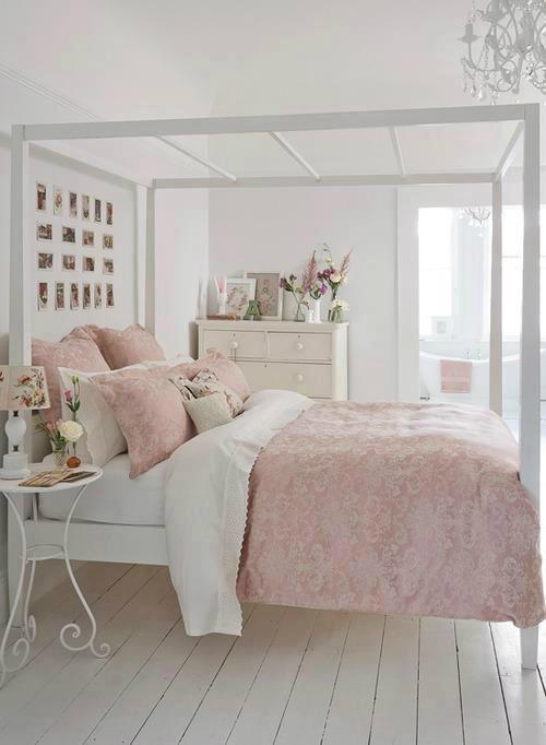 letto-shabby-rosa