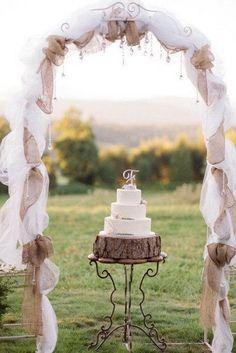 arco torta matrimonio
