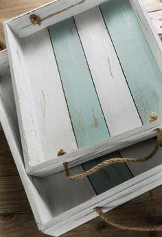 cassetti legno decapato