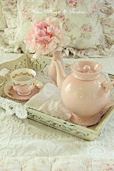 colazione rosa antico