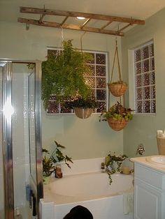 giardino verticale bagno