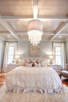 lampadario letto