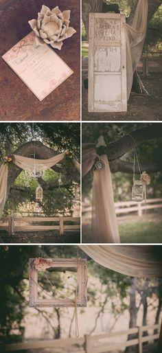 matrimonio outdoor dettagli
