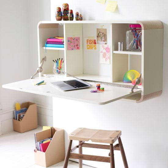 scrivania ragazza shabby chic