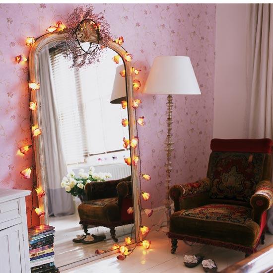 specchio camera ragazza