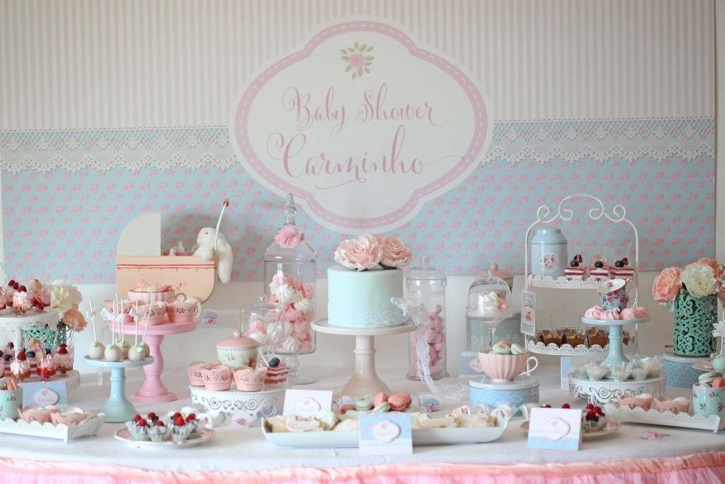 baby shower shabby chic idee che vi incanteranno arredamento provenzale. Black Bedroom Furniture Sets. Home Design Ideas