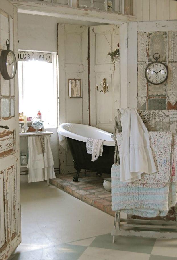 bagno porte decapate
