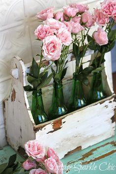 bottiglie rose