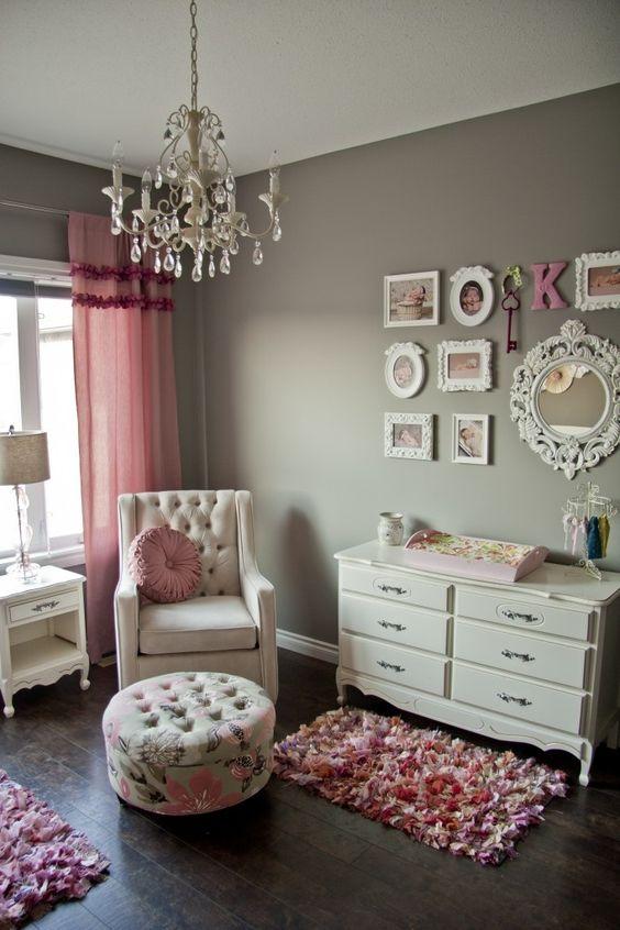 Dettagli romantici nella camera da letto Shabby Chic - Arredamento ...