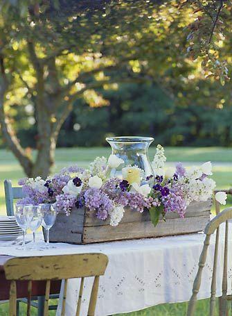 centrotavola fiori outdoor