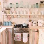 cucina rosa azzurro pastello