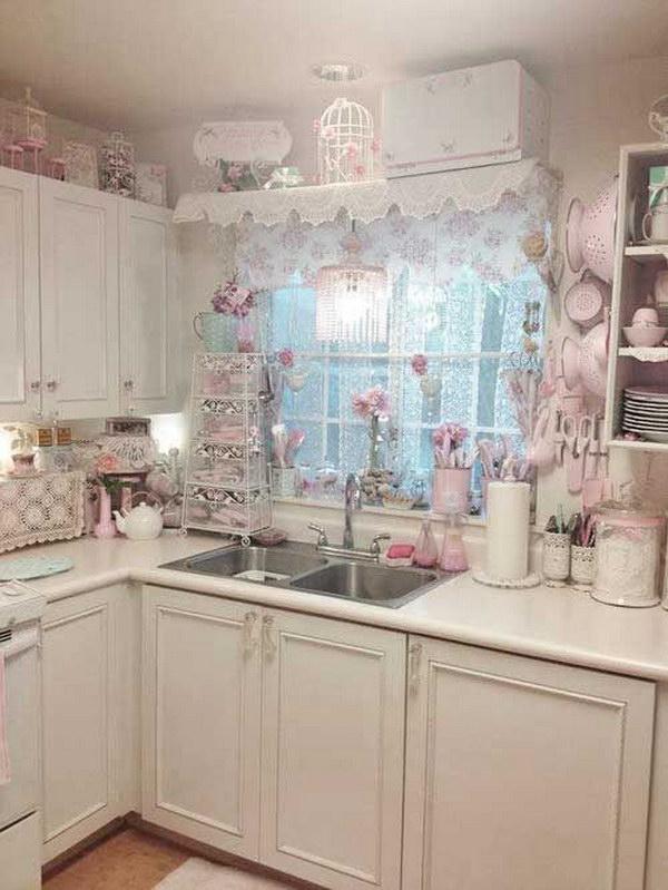 Colori pastello in cucina qualche meravigliosa proposta - Colori pareti cucina shabby chic ...