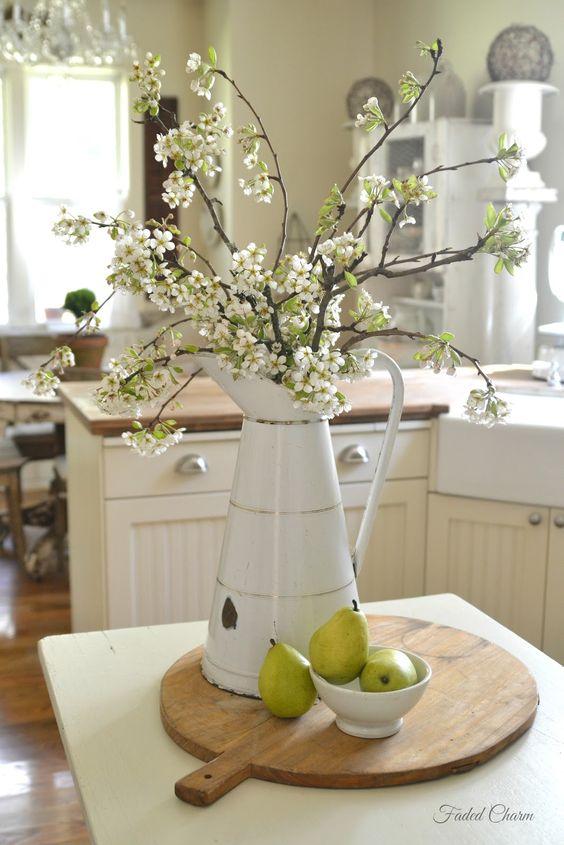 Matrimonio Country Chic Kitchen : Dettagli per colorare di primavera la cucina shabby chic