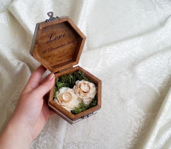 porta fedi scatolina legno