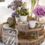 centrotavola matrimonio tavolo