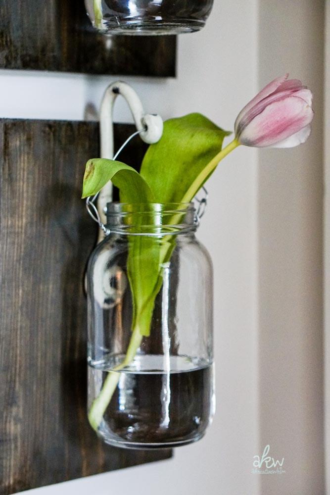 barattolo fiore