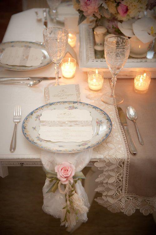 cena romantica candele