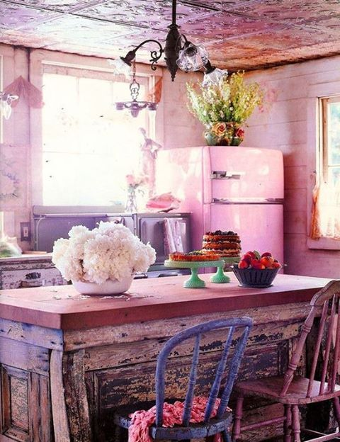 frigo rosa