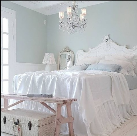 letto bianco